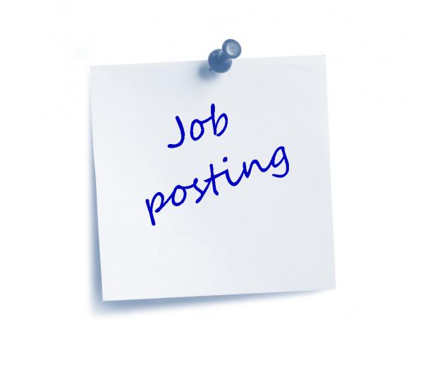 Job Post Career opportunity